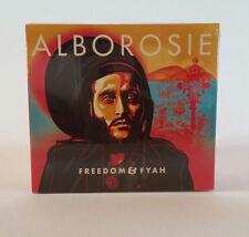ALBOROSIE Freedom & Fyah cd Nuovo Sigillato!