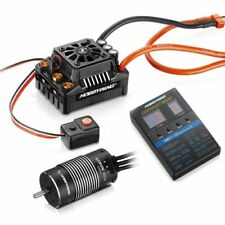 New Hobbywing MAX8 Brushless ESC Combo EzRun 2200KV Motor T-plug For 1/8