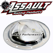 GM Chevy Car/Truck 10 Bolt Chrome Plated Steel Differential Cover w/ Drain Plug