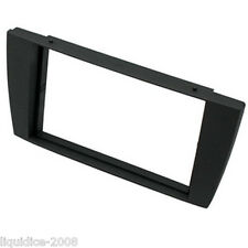 CT24JG02 JAGUAR X TYPE 2002 to 2009 DARK GREY DOUBLE DIN FASCIA ADAPTER PANEL