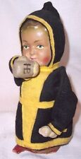 "ANTIQUE PAPER MACHE HB HOFBRAUHAUS BREWERY BEER ADVERTISING MONK 6 1/4 "" DOLL"