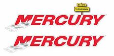 PAIR OF (2) MERCURY OUTBOARD MOTOR DECALS/STICKERS 1.4X8 BOATING FISHING p79