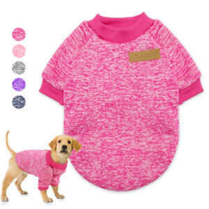 Dog Outfits Small Dog Sweater Cat Knitted Jumper Chihuahua Clothes Vest Jacket
