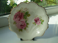 Royal Albert American Beauty Shell Trinket Dish 2nd Quality China Pink Roses