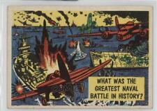 1957 Topps Isolation Booth #7 What Was The Greatest Naval Battle In History? 0u7