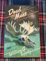 Dead Meat by William Tapply SIGNED 1987 Brady Coyne Myster