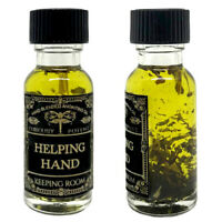 Helping Hand Oil Luck Harmony Spiritual Help Witchcraft Supplies Hoodoo Occult
