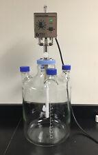 Bellco U-Carrier Spinner 15L Flask Glass + Over Head Stirrer