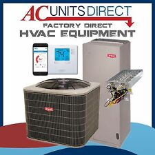Bryant 3.5 Ton 14 SEER Air Conditioning Split System, Wi-fi Thermostat, 5kw Heat