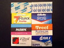 Doubled Edge Razor Blade Sampler: A True Variety Pack #2