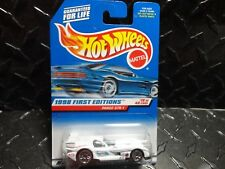 Hot Wheels #657 White Panoz GTR-1 w/Lace Wheels & Blue Interior