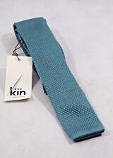 Bnwt Kin By John Lewis Mercer Knitted 5cm Tie In Seafoam (R81)