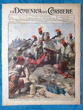La Domenica del Corriere 6 ottobre 1912 Zanzur - Valle Cadino - Camillo Cavour