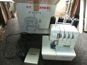 JANOME  EZY  LOCK 404D  GOOD  CONDITION