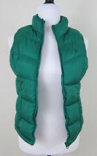 OLD NAVY Puffer Vest Girls XL Green Zipper