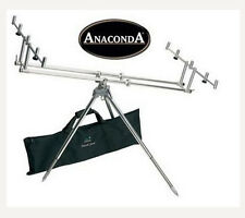 NEW ROD POD ANACONDA Quick FOR 3-5 RODS with Carry Bag