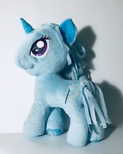 "My Little Pony Unicorn 11"" Trixie Lulamoon Blue Plush Hasbro Stuffed Animal Toy"