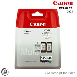Genuine Canon PG545 / CL546 Black & Colour Ink Cartridge Multipack (8287B005)