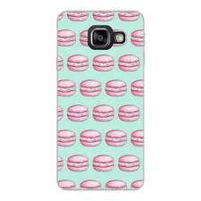 Coque Etui Housse silicone motif Macaron Samsung Galaxy A5 2016 en Gel TPU