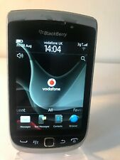 BlackBerry Torch 9810 - 4GB - Silver Black (Unlocked) Smartphone Mobile QWERTY