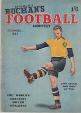 CHARLES BUCHAN'S FOOTBALL MONTHLY DECEMBER 1953 ~ DERBY / TOTTENHAM / PLYMOUTH