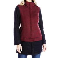 Prana NWT Womens Size XS Caprice Jacket Redberry Insulated Wool Blend MSRP $199