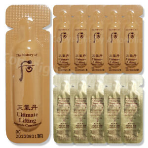 The history of Whoo Ultimate Lifting Ampoule Concentrate 1ml (10pcs ~ 150pcs)