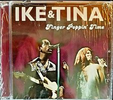 Ike & Tina Turner-Finger Poppin' Time-CD-Wrapped, New-EU Import