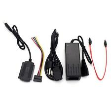 USB2.0 to SATA PATA IDE 2.5 3.5 HDD SSD Hard Drive Adapter Transfer Cable Kit TR