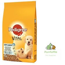 10KG PEDIGREE PUPPY VITAL PROTECTION COMPLETE DRY JUNIOR DOG FOOD CHICKEN & RICE