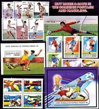 collection FOOTBALL CUP x 3 sets + 3 s/s MNH SOCCER, SPORTS, TENNIS