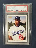 2002 Topps 206 #254 ADRIAN BELTRE Dodgers ~Future HOF~ PSA 9 Mint *POP 1*
