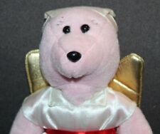 "TAGGED Angelic Beans By Protect STUFFED BEAR ""Mercy"" Loving Kindness"