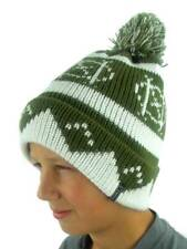 O'Neill Pompom Hat Winter Hat Beanie Billboard Green Norwegian Pattern
