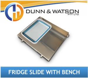 Aluminium Fridge Slide Bench with Sink (4x4, 4wd, Ute, Canopy, Tray)
