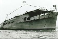 WW II German  Photo --       Graf Zeppelin - Aircraft Carrier