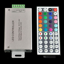 12V-24V DC 24A 288W 44Key IR Remote Controller For RGB LED Strip 5050 3528 SMD