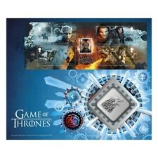 Game of Thrones™ House Stark Brilliant Uncirculated Medal Cover