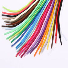 31 Colors Rope Multi Color Waxed Round Cord Dress Shoe Laces Colourful Shoelace