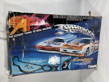 New listing AURORA AFX SUPER G PLUS SPEED HOOK SLOT CAR SET TOMY W CARS BOXED Lot Compl READ