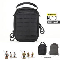 Nitecore NUP10 Light Weight Nylon Tactical Utility Daily Pouch Bags Backpacks
