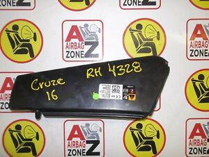2016-2017-2018 CHEVY CRUZE RH SEAT AIRBAG