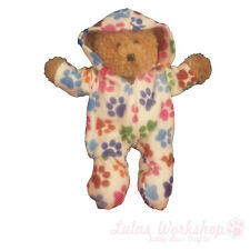 "Cream/Multi Paws All in One Suitable for 16"" Build a Bear & Baby Annabell"