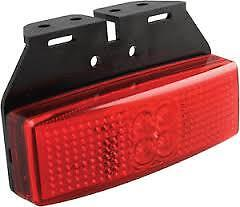 LED Autolamps Marker Light/ reflector Lamp red 12/24V 1491rm