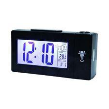 Sveglia Orologio Digitale e Temperatura con Schermo LCD e Proiezione Orario
