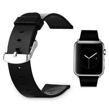 Baseus Véritable Bracelet en Cuir avec Classique Boucle pour Apple Watch 38mm