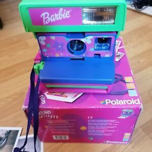 Appareil vintage photo Instantané Polaroid 600 Barbie en etat de fonctionnement