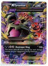 Mega M Tyranitar EX 43/98 Holofoil Mint Pokemon Card