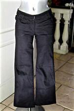 pant pantalon évasé original bcbg noir femme ZADIG & VOLTAIRE kenya TAILLE 36