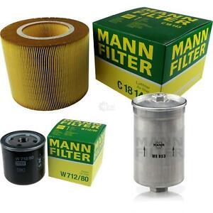 MANN-FILTER PAKET Luft Öl Kraftstoff Saab 9-5 Kombi YS3E 2.3 T 3.0 V6t 2.0